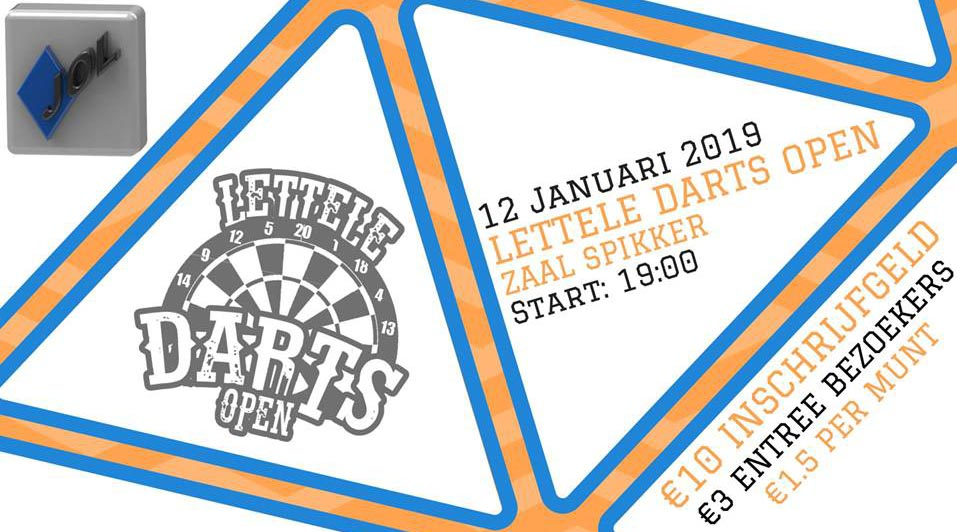 Lettele Darts Open 2019