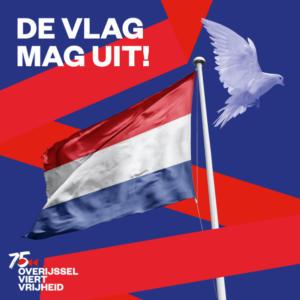 vlag 75 bevrijding copy
